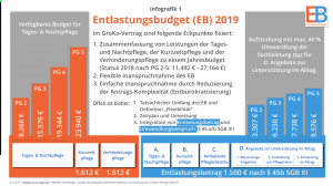 Infografik Entlastungsbudget 2019